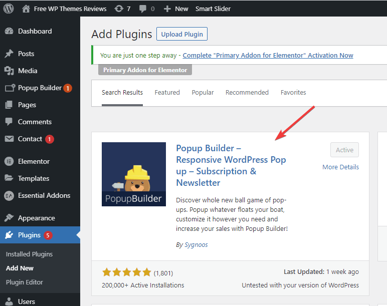 Install and activate the plugin in Dashboard.