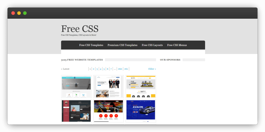 Free CSS