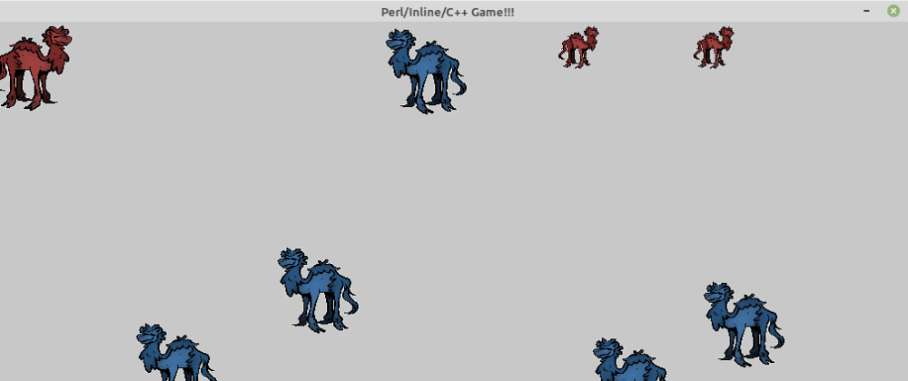Cover image for Perl animated game. Playing with Perl, Inline C++ and SDL2 (part 1!)