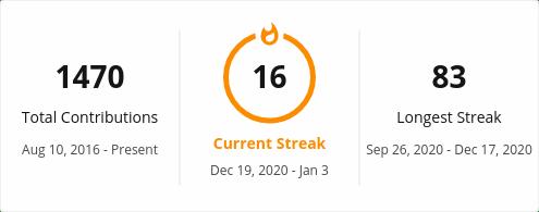 GitHub Streak