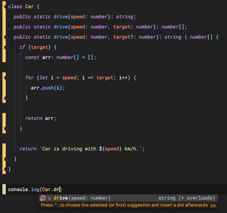 Method overloading in TypeScript - DEV Community 👩 💻👨 💻