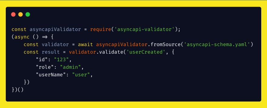 validator example