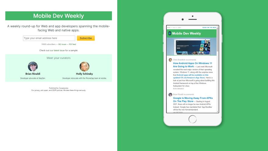 Mobiledev weekly