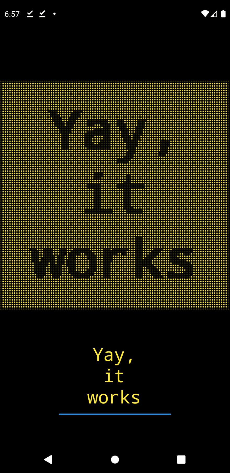 Flutter LED display iteration 3