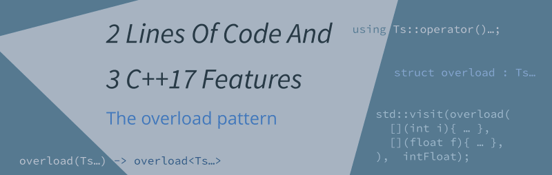 the overload patter C++17