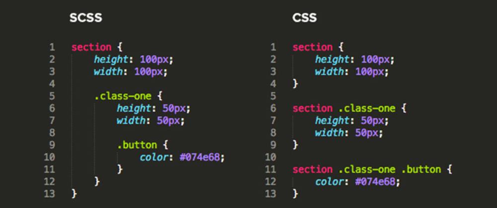 Cover image for TIL - SASS - CSS Preprocessor