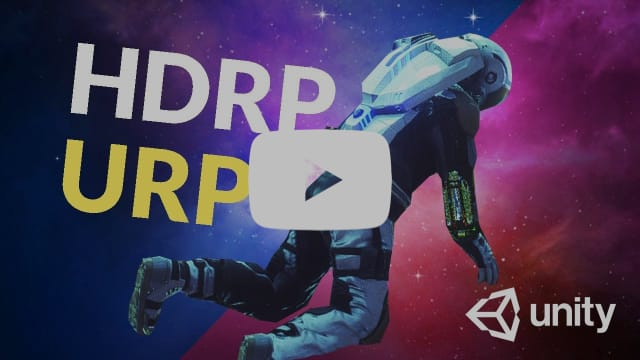 HDRP vs. URP - Which Unity Template should you choose?