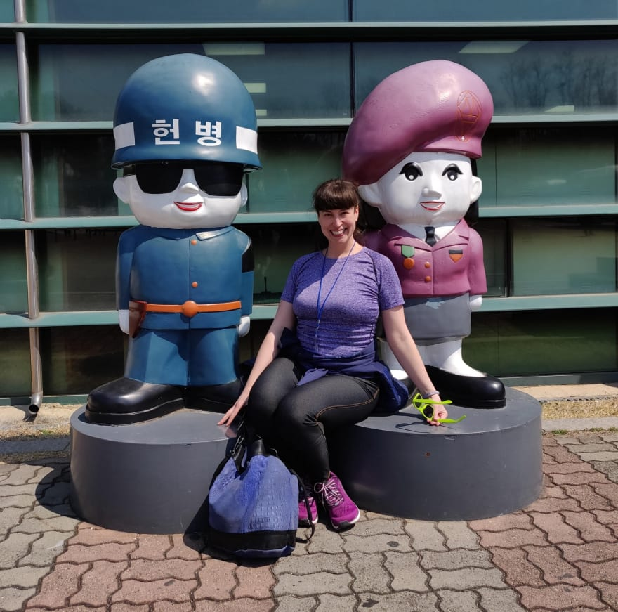 Tanya Janca, South Korea, DMZ, 2019