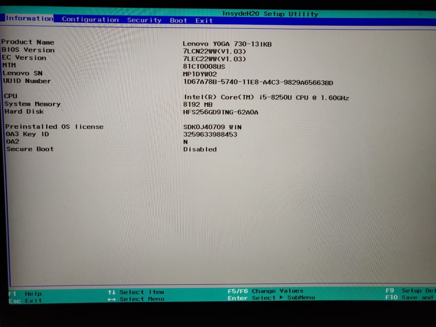 Configuring BIOS - DEV Community 👩 💻👨 💻