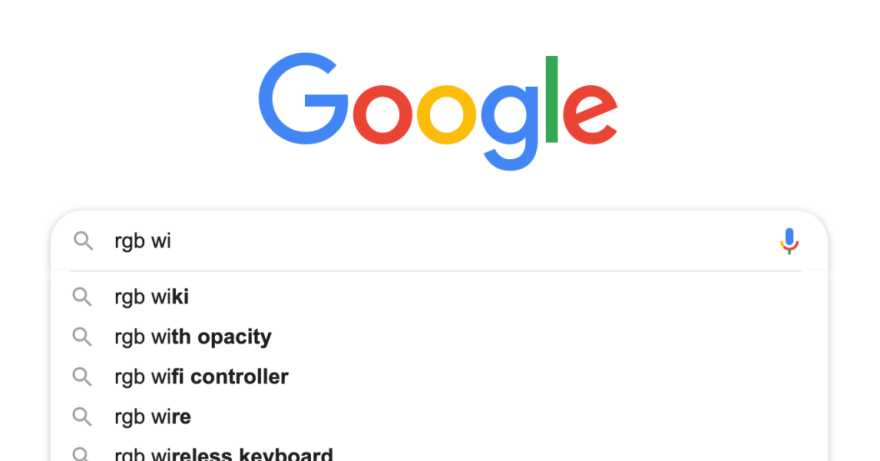 Textbox with auto-complete suggestions (google.com)