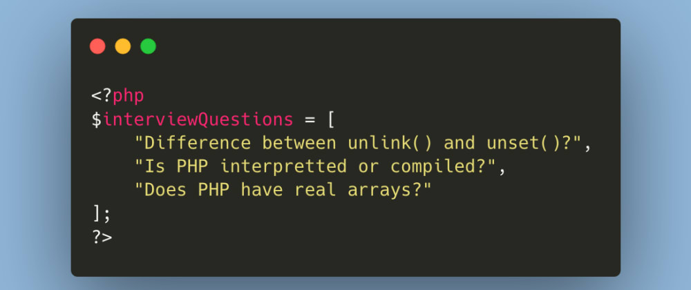 Cover image for Does PHP Have Real Arrays?