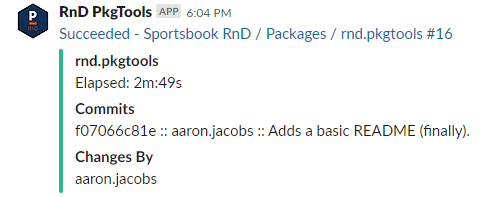 TeamCity Build Message