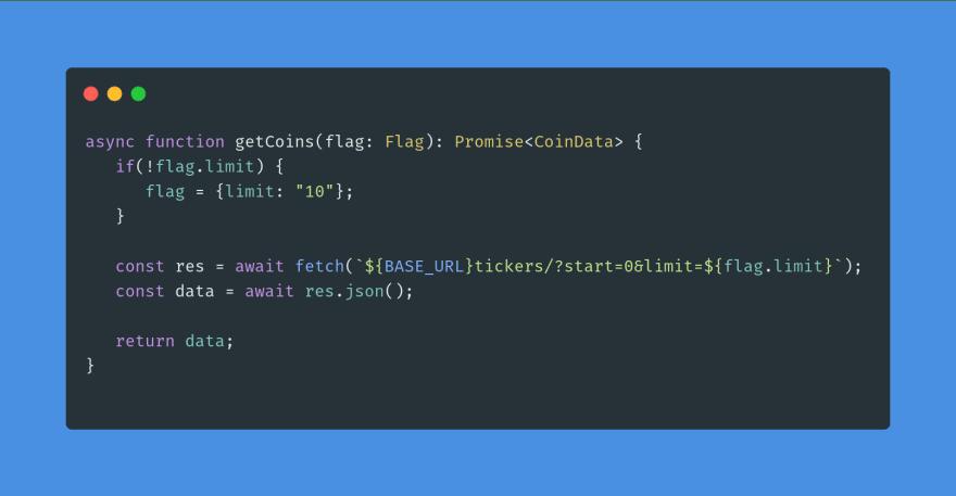 code sample three