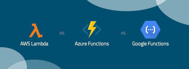 Serverless services by AWS vs GCP vs Azure