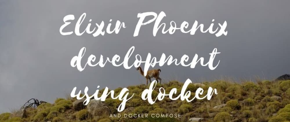 Cover image for Elixir Phoenix development using Docker and Docker-Compose