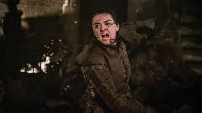 Arya Stark, don't get on her bad side