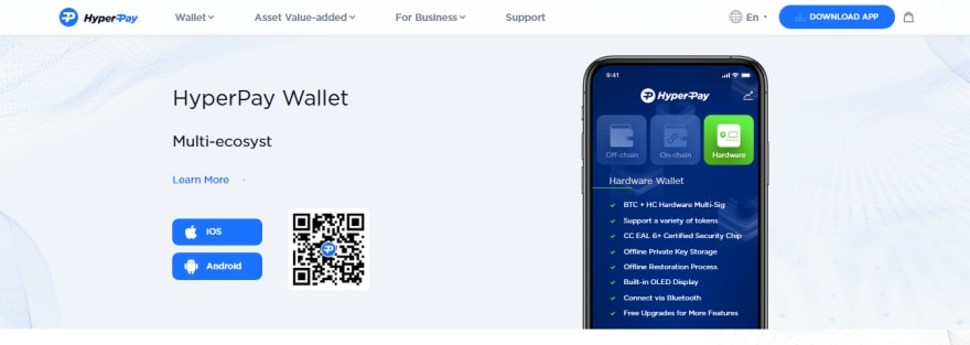 HyperPay Wallet - CoinGyan