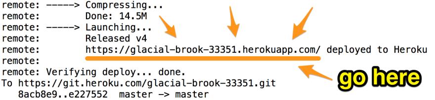 My Heroku URL