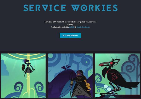 Service Workies Screen