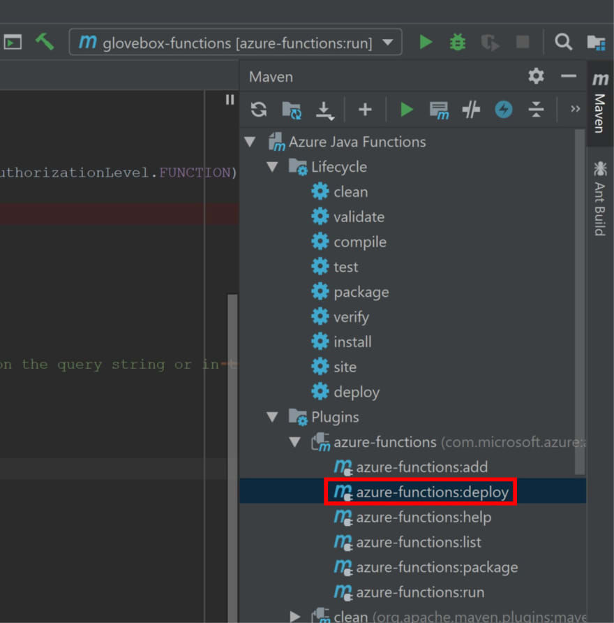Azure functions deploy