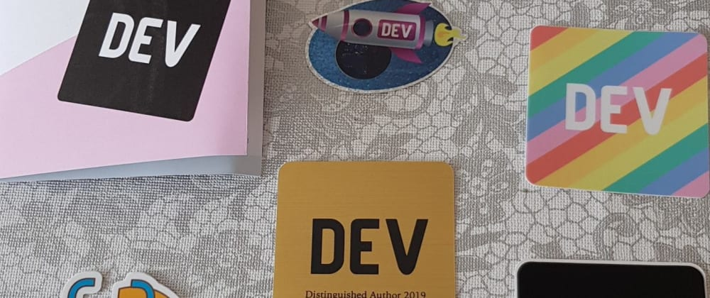 Cover image for Thank you DEV and everyone! 🤝 I have become one of the Distinguished Authors of 2019!
