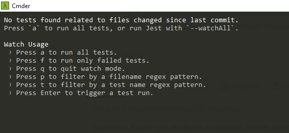 Test Menu