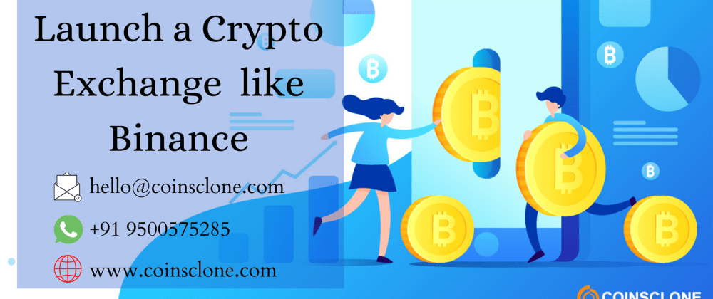 Cover image for Launch your Crypto Exchange Business with Binance Clone Script