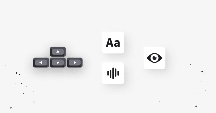 LiveChat accessibility buttons image
