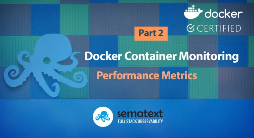Docker container performance metrics