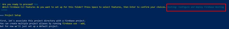 Firebase Hosting Config