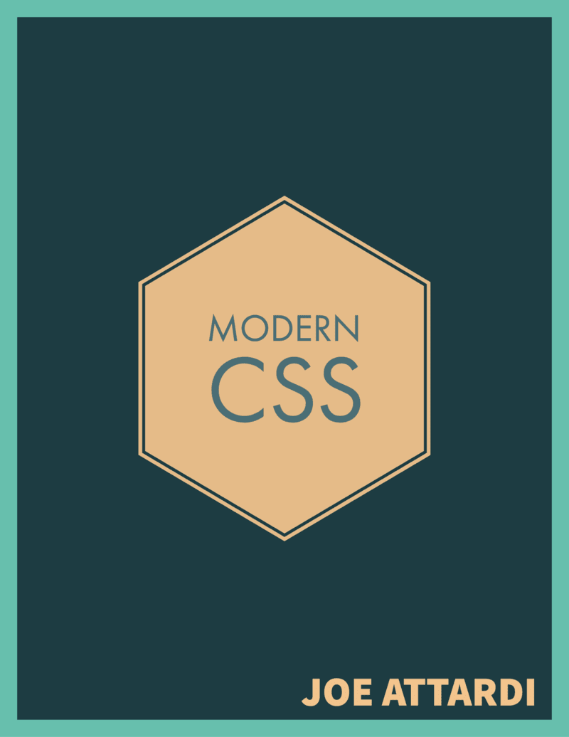 Modern CSS cover
