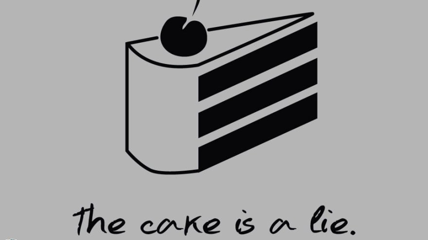 Feed with a cake