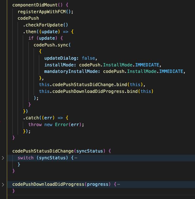 CodePush Example