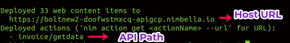 React App hosts on Nimbella 3-3