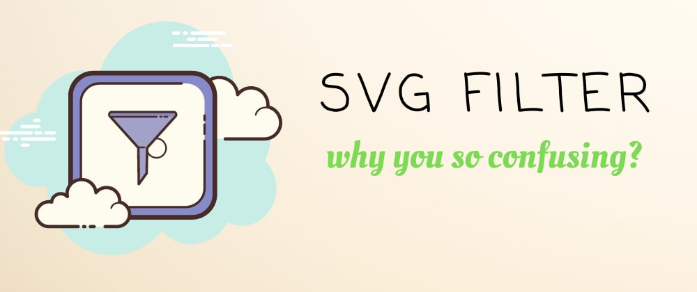 Cover image for SVG Filters Spotlight Effect