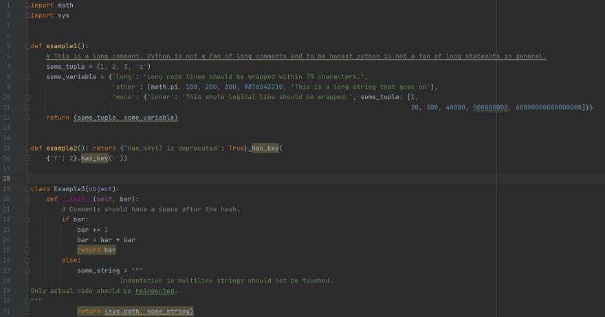 Test Script after autopep8
