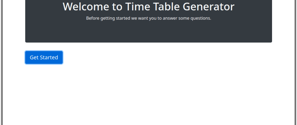 Cover image for Make your first Electron project with time table generator