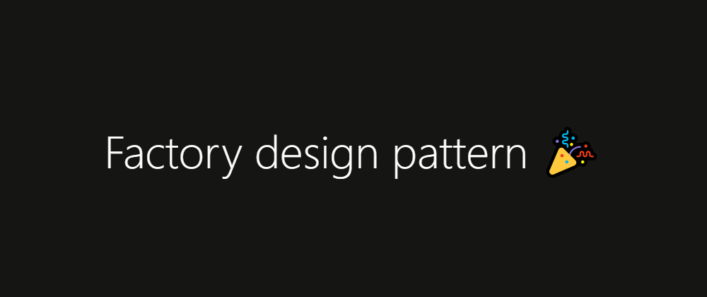 Cover image for Using the factory design pattern with Kotlin