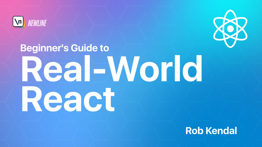 Beginners Guide to Real-World React course cover