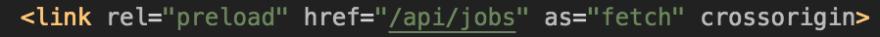 JSON rel preload