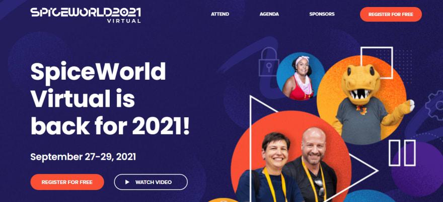 SpiceWorld Virtual Developer Conference