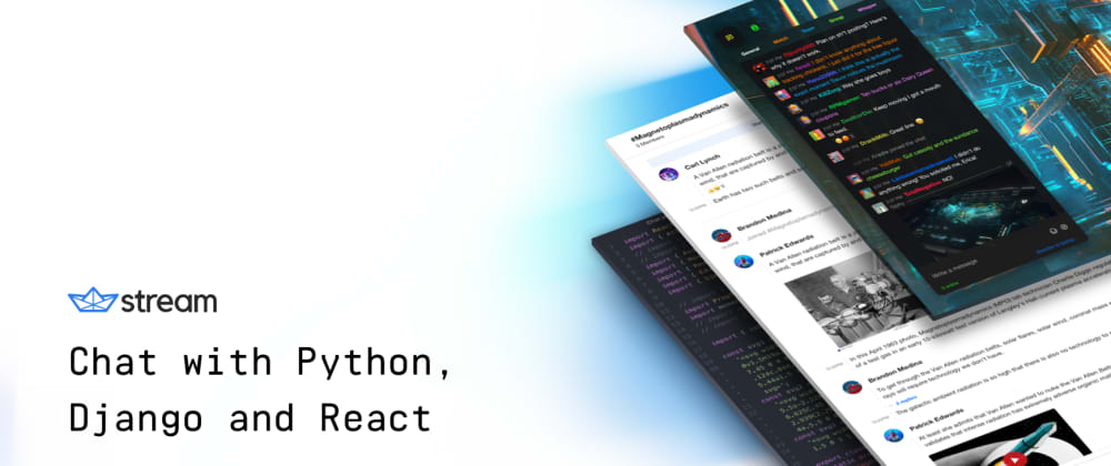 Cover image for Python Chat Tutorial with Django and React