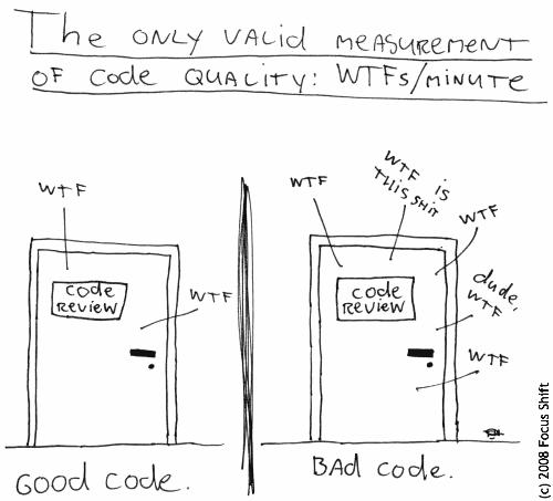 good code vs bad code