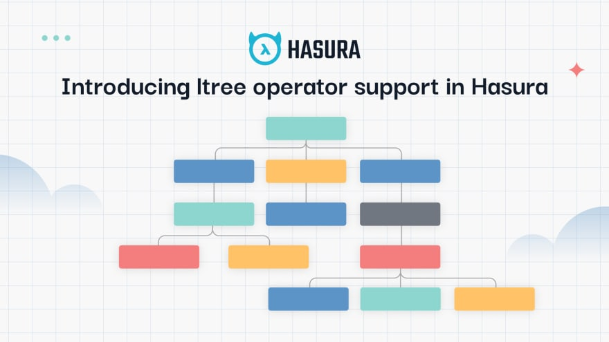 Query hierarchical data structures on Hasura with Postgres ltree