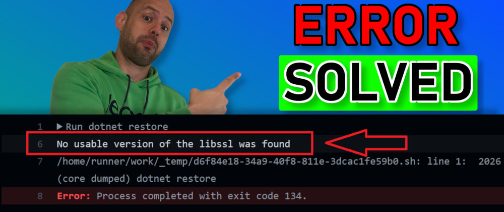 """Cover image for SOLVED: """"No usable version of the libssl was found"""""""