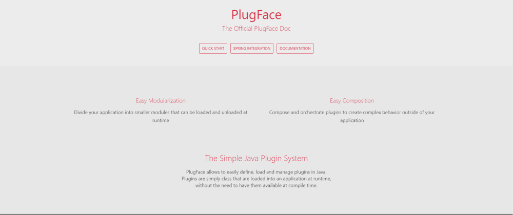 Cover image for PlugFace Reborn - the Java Plugin System