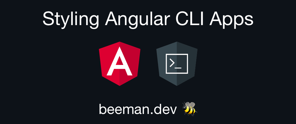 Tutorial: Styling Angular CLI Apps with Bootstrap