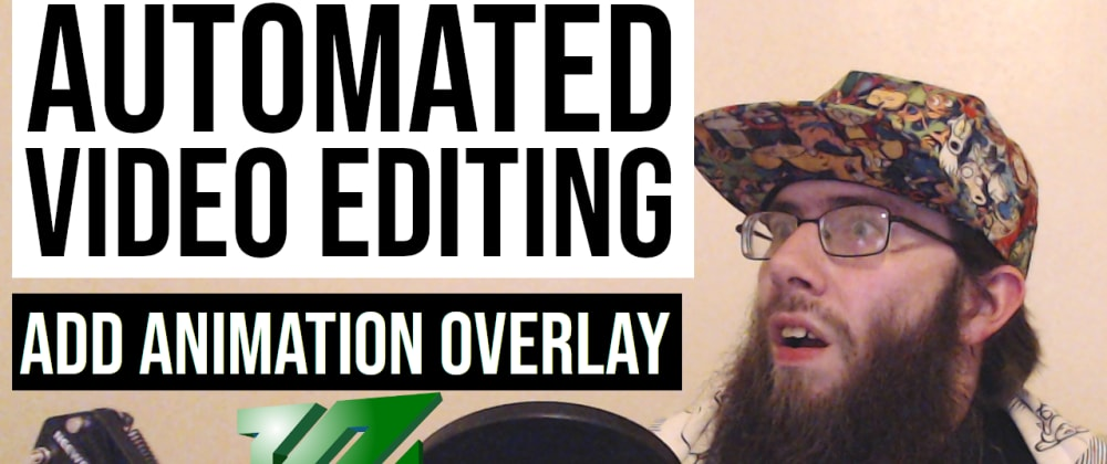 Cover image for Add an animation overlay on a video with ffmpeg