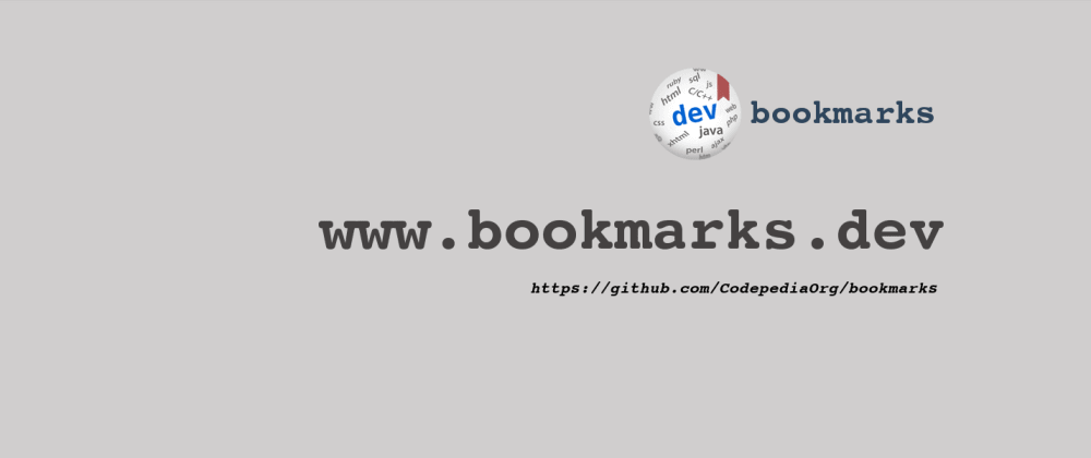 Cover image for  10k+ curated dev bookmarks collection