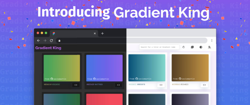 Introducing Gradient King - Never again run out of gradients! 🌈